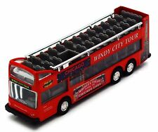 Chicago Cubs Wrigley Field Sight Seeing Bus 1:64 Scale Diecast Windy City Tours