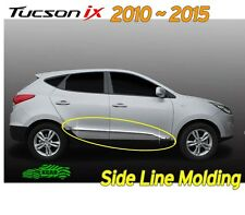 Chrome Side Line Exterior Molding Trim D-036 for Hyundai 2010 ~ 2015 Tucson ix35