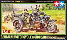 Tamiya 32578 German Motorcycle & Sidecar 1/48 scale kit