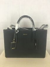 Brand New Black DKNY Authentic Designer Leather Shoulder Tote Bag RRP £265