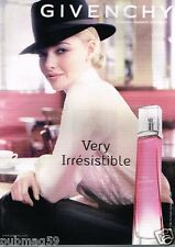 Publicité advertising 2013 Parfum Very Irresistible Givenchy Amanda Seyfried