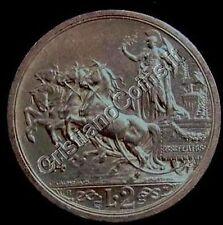 2 LIRE  1914 Quadriga Briosa   conservazione  SPL +