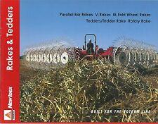 Farm Equipment Brochure - AGCO New Idea - Rakes Tedders - 2001 (F4591)