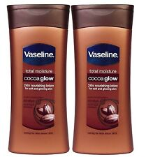 2  Vaseline Total Moisture Cocoa Glow 24Hr Nourishing Lotion Soft & Glowing Skin
