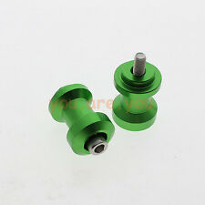 10mm CNC Swingarm Spool Bobbins Slider For Kawasaki 2013-2014 Ninja 300R EX300