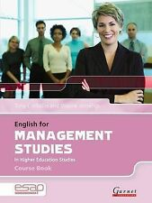 English for Management in Higher Education Studies: Course Book and Audio CDs (E