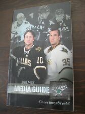 Dallas Stars 2007-08 Official NHL Media Guide-Limited Production