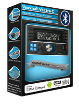 Vauxhall Vectra C car stereo, Alpine CDE-W235BT Bluetooth kit, USB AUX CD player