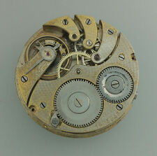 1903 ANTIQUE LONGINES POCKET WATCH MOVEMENT – C W WICKERSHAM BAKERSFIELD RUNS
