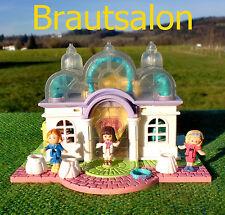 POLLY POCKET MINI ★★Bridal Salon★★ ♥Brautsalon♥ Pollyville ♥Beleuchtet♥ Light up