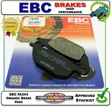 NEW EBC ORGANIC BRAKE PADS PAD SET REAR FA343 HONDA XL125 V VARADERO 05 06 07 08