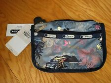 Disney LeSportsac Vacation Paradise Travel Cosmetic Bag NWT
