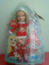 Girlz Girl Bratz Holiday Cloe Doll Blonde Hair Blue Eyes Bonus Tiara For You New