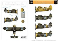 SBS Model 1/72 Polikarpov I-153 Chaika Finnish Air Force WWII Vol.II. D72004