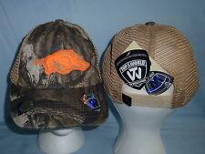ARKANSAS RAZORBACKS Bounty Camo CAP/HAT T.O.W. One Size Fits All  NWT $22 retail