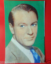 figurines actor cards attori figurine artisti del cinema 143 gary cooper lampo v