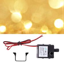 Universal Genuine DC Water pump 240L/H 12V Mini Ultra Quiet Black Pump#DB