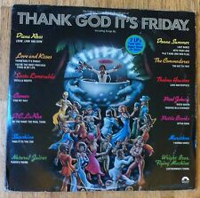 VARIOUS ARTISTS Thank God It's Friday 3-LP OST