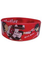 **License** Black Butler Sebastian Ciel Group Flying Red PVC Wristband #54071