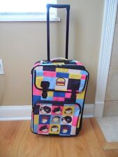 "RARE Gwen Stefani Harajuku Mini 21"" Rolling Luggage Suitcase Gently Used HTF"