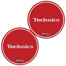 Slipmats Technics DMC Speedmat Red / Rot (1 Paar / 1 Pair) MRSPEED NEU+OVP!