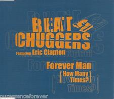 BEATCHUGGERS ft ERIC CLAPTON - Forever Man (How Many Times?) (UK 3 Tk CD Single)