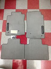 2005-2011 TACOMA ACCESS CAB CARPET FLOOR MATS-LIGHT CHARCOAL GRAY-GENUINE TOYOTA