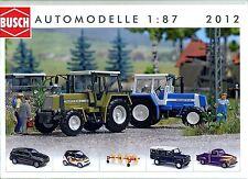 Busch Automodelle 2012