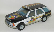 Tinplate/Friction  Renault 18 Estate Police - Juguetes Roman - Made in Spain