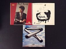 3x Promo CDs - Paul Young, Bjork, Tubular Bells