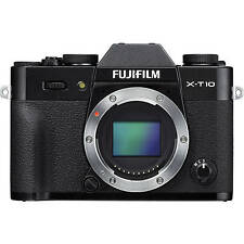 Fuji Fujifilm X-T10 Digital Camera Body in Black (UK Stock) BNIB