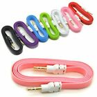 1M 3.5mm Jack Plug To Plug Male Cable Audio AUX Lead For Car Mp3 Speaker iphone