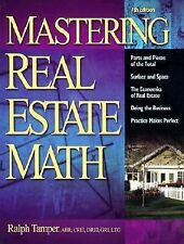 Mastering Real Estate Mathematics by Ralph Tamper, William L., Jr. Ventolo...