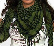Arab Shemagh Keffiyeh Military Tactical Forest Green Scarf Shawl Kafiya Wrap