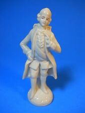 "G DEP Germany bone china porcelain Figurine Man Rococo 17922, 5"" tall Gräfenthal"