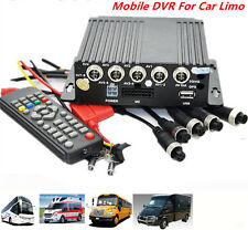 Car Vehicle School Bus RV Ambulance AHD Mobile DVR Realtime Video/Audio Recorder