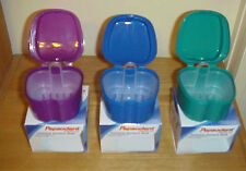 Lot of 2 ~ PEPSODENT Complete Care Premium Denture Bath Cup Container's YOU PICK