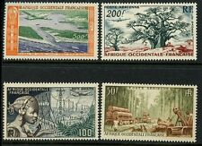 France Cols. WEST AFRICA Afrique Occidentale 1951/8 Airs set 4 UM ** UMNH