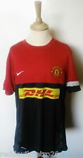 Manchester United DHL Official Nike Football Training Shirt (Youths 13-15 Years)