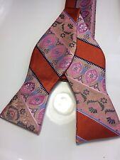 New Verse 9 Medallion  SELF TIE Bow Tie Multi Color Men's BowTie & Hanky