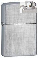 Zippo 28181 linen weave Lighter with PIPE INSERT PL