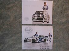 2014 Jimmie Johnson Lowe's Racing NASCAR Chevrolet SS Facts Card NEW