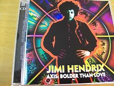 JIMI HENDRIX AXIS : BOLDER THAN LOVE  DCD MINT-