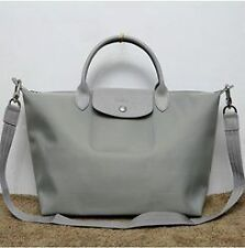 Longchamp neo bag Pebble gray Medium