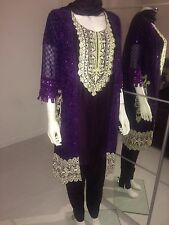 Pakistani Designer Suit Salwar Kameez Lengha Asian Wedding Dress Reduced Price