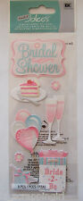 ~BRIDAL SHOWER~ Touch of Jolee's Boutique Dimensional Stickers; Wedding, Bride