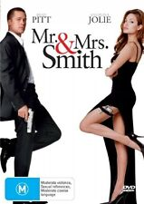Mr & Mrs Smith [DVD], LIKE NEW, Region 4, FREE Next Day Post...6180