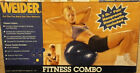 2 WEIDER PILATES ball 5 & 9 PC FITNESS EXERCISE SET GYM STORE SCHOOL PT BIRTHING