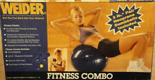 6 WEIDER PILATES balls inflatable chair 65 cm 5 PC GYM FITNESS EXERCISE BIRTHING