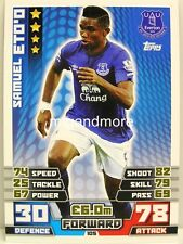 Match Attax 2014/15 Premier League - #105 Samuel Eto'o - Everton